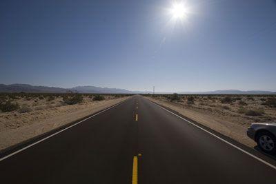 Onderweg naar Flagstaff