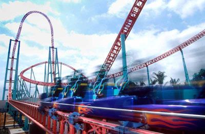 Knott's Berry Farm - The Xcelerator