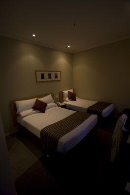 Onze kamer in Melbourne