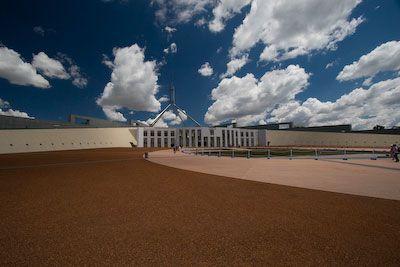 Nieuwe parlementsgebouw