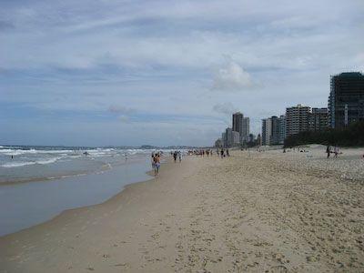 Strand van Surfers Paradise