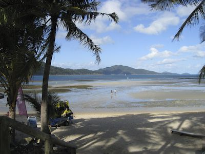 Strand 's middags op Hamilton Island