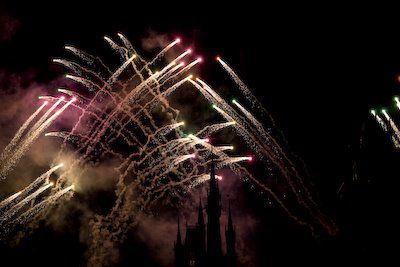 Vuurwerk in Magic Kingdom