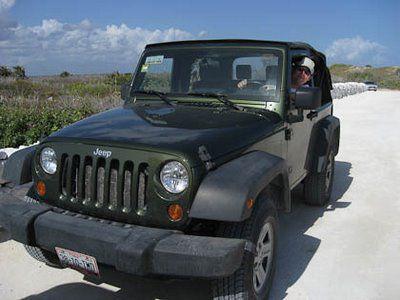 Jeep op Cozumel