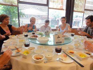 Lunchen op z'n Chinees