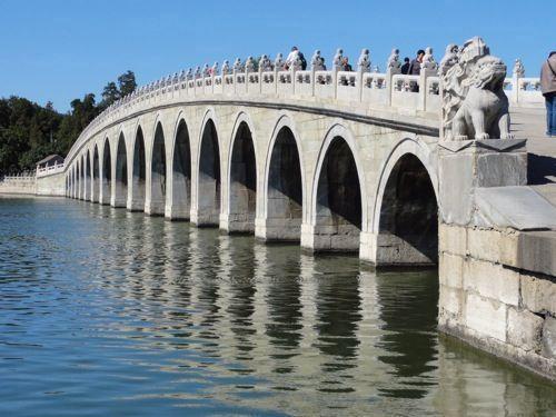 17-bogen-brug bij het Zomerpaleis