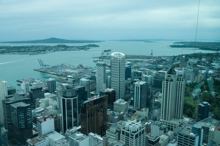 Uitzicht vanuit Sky Tower