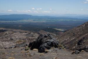 Uitzicht vanaf Mt Ruapehu