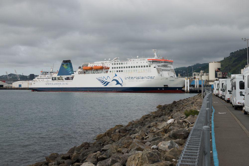 Interislander ferry naar Picton