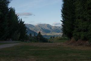 Uitzicht camping Wanaka