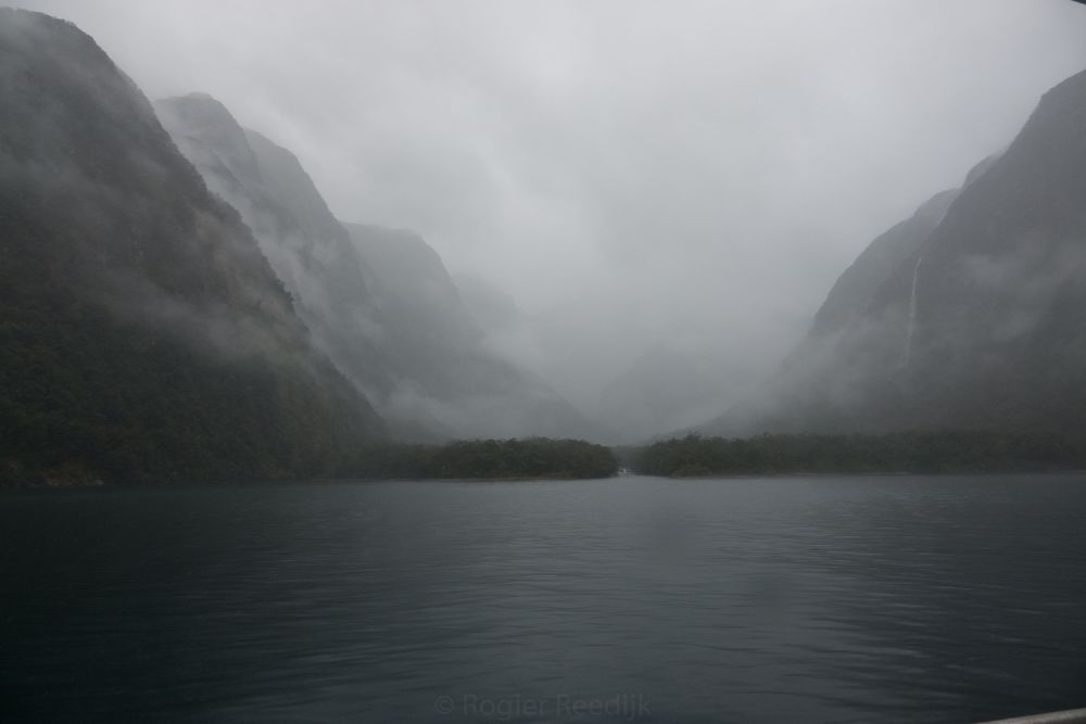 Mist in Milford Sound