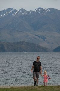 Lake Wanaka strand