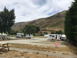 Camping Wanaka met camper
