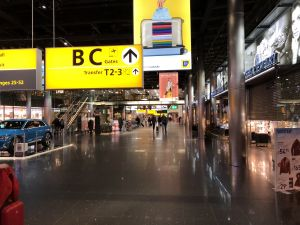 Schiphol om 5 uur in de ochtend