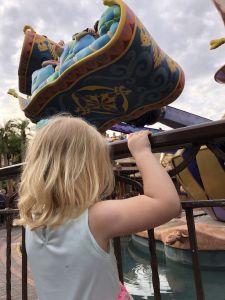 Attractie vliegende tapijten Aladdin