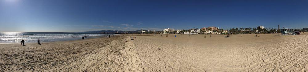 Santa Monica beach en Pier