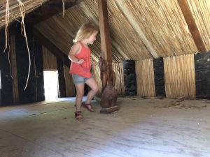 Maori huis van binnen