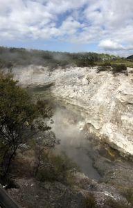 Wai-O-Tapu rokende grot
