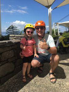 Rodellen bij Skyline Rotorua