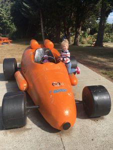 De wortel raceauto van Ohakune