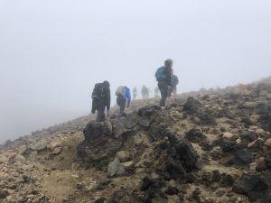 Vervolg pad Red Crater