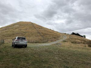 Parkeerplaats WhiteCliff Boulders