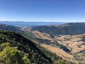 Uitzicht op Motueka
