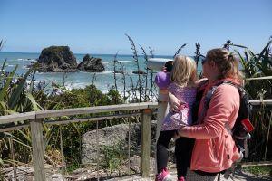 Meeuwen spotten in Taurange Bay