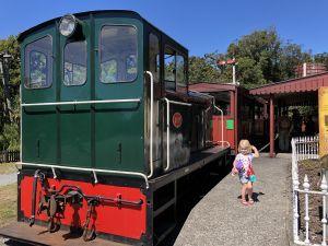 Shantytown trein