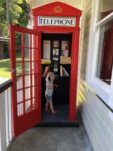 Telefooncell in Shantytown