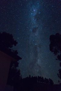 Melkweg gezien vanuit Tarras