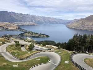 Luge (rodelbaan) in Queenstown