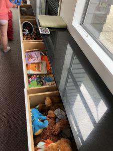 Speelgoed lades in Twizel