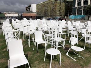 185 chairs memorial