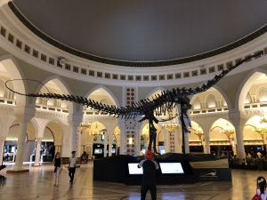 Dino in Dubai Mall