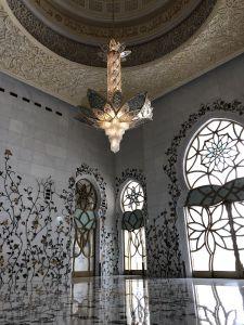 een 'kleine' entree van de Grand Mosque