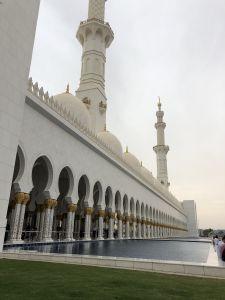 Zijkant Grand Mosque