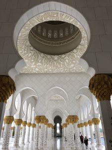 Gang naar het damestoilet Grand Mosque