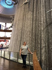 Waterval in Dubai Mall