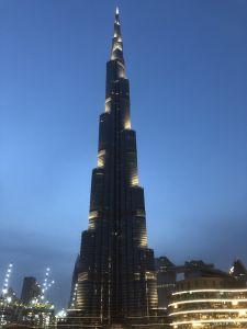 Burj Kalifa in de avond